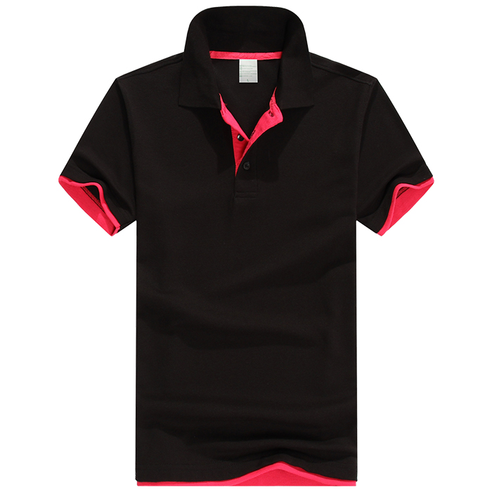 P-19 Double Hem Polo Shirts (200g) - Each Custom T-Shirt Printing