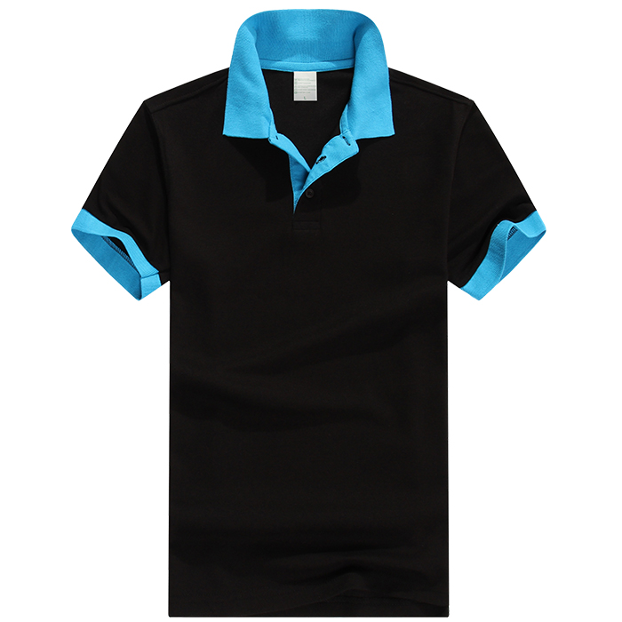 P-20 Contrast Color Polo (180g) - each Custom T-Shirt Printing