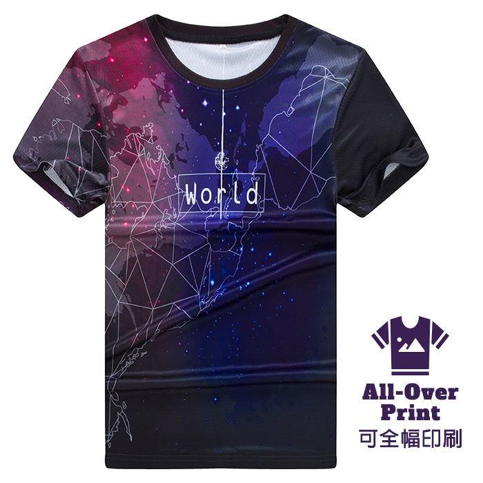 SP-10 Sublimation T-Shirt (Short-sleeved) - each Custom T-Shirt Printing