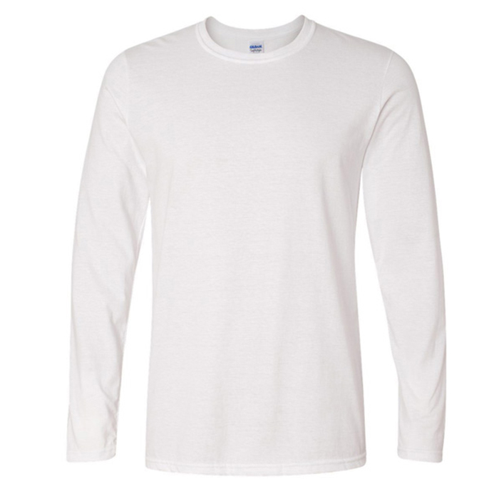 Gildan Premium Cotton Round-neck T-shirt (Long sleeves)  - Each Custom T-Shirt Printing